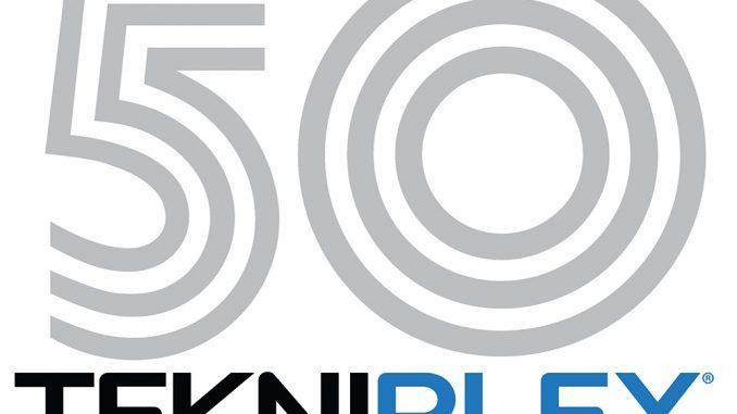 Tekni-Plex 50th anniversary logo